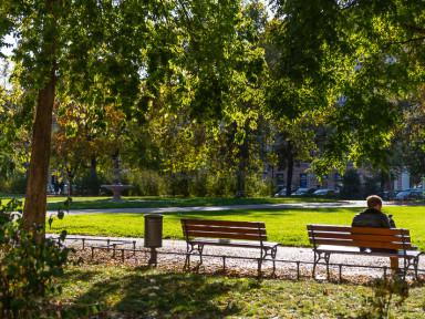 Park na Karlínském náměstí